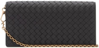 Bottega Veneta Woven Chain Clutch