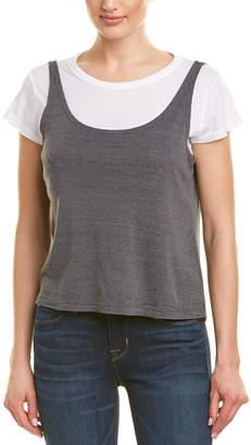 Monrow 2-In-1 T-Shirt & Tank