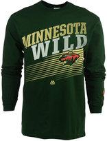 Majestic Men's Minnesota Wild Building Strategy T-Shirt