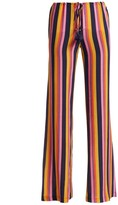 Figue Saanchi Striped Silk Pants