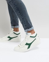 Diadora Game L High Trainers In White