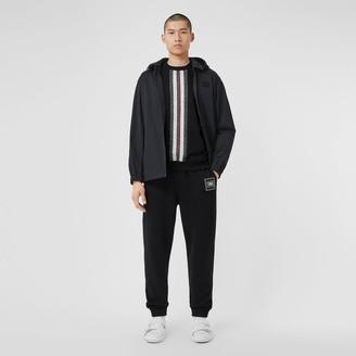 Burberry Detachable Hood Water-resistant Cotton Jacket