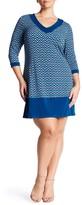 Leota Matte Jersey Sheath Dress (Plus Size)