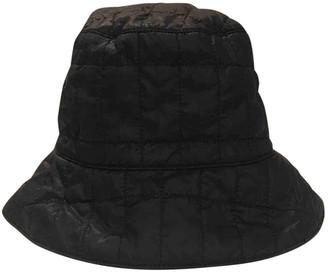 Prada Black Cotton Hats
