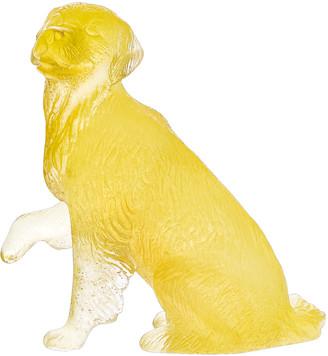 Daum Golden Retriever Sculpture