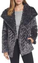 Tahari Roslyn Faux Fur Jacket