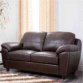Asstd National Brand Aria Pad-Arm Loveseat