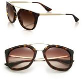Prada Double-Bar 54MM Pilot Sunglasses