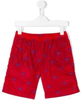 Gucci Kids - GG bee print swim shorts - kids - Polyamide/Spandex/Elastane/Polyamide-8 - 4 yrs