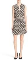 A.L.C. Women's Calder Print Silk Fit & Flare Dress