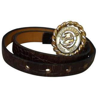 DSQUARED2 Brown Leather Belts