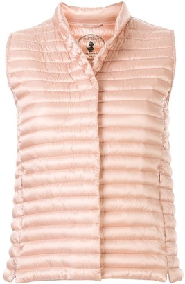 Save The Duck Iris Mandarin-collar quilted gilet