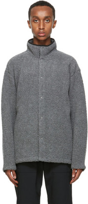 Nanamica Grey Wool Fleece Jacket