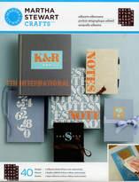 Martha Stewart Flourish Serif Alphabet Adhesive Silkscreen Stencils 32928