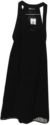 Iceberg Black Cotton Dress for Women