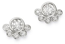 Bloomingdale's Bezel-Set Diamond Stud Earrings in 14K White Gold, 0.75 ct. t.w. - 100% Exclusive