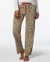 Hue Heart-Print Cotton Pajama Pants