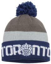 Reebok Toronto Maple Leafs Cuffed Pom Knit Toque