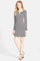 Diane von Furstenberg Women's 'Reina' Silk Shift Dress