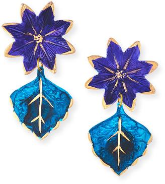 We Dream In Colour Bali Earrings, Blue