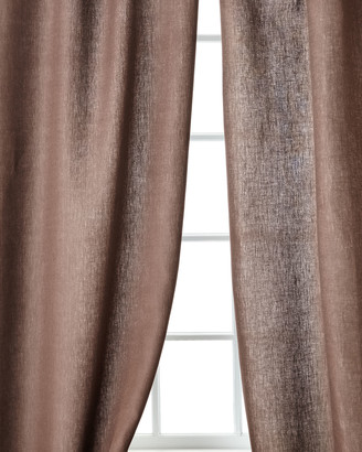 "Home Silks Skye Curtain Panels, 108""L"