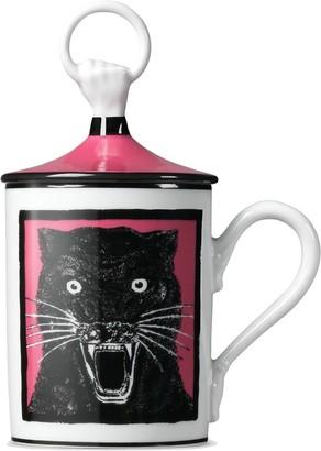 Gucci panther hand mug
