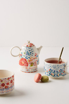 Anthropologie Mason Tea For Two Set By in Assorted Size TEAPOT