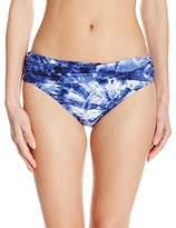 Bleu Rod Beattie Women's Get Wet Sarong Hipster Bikini Bottom