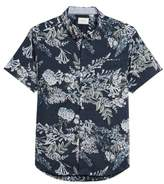 7 Diamonds Conversation Peace Floral Sport Shirt