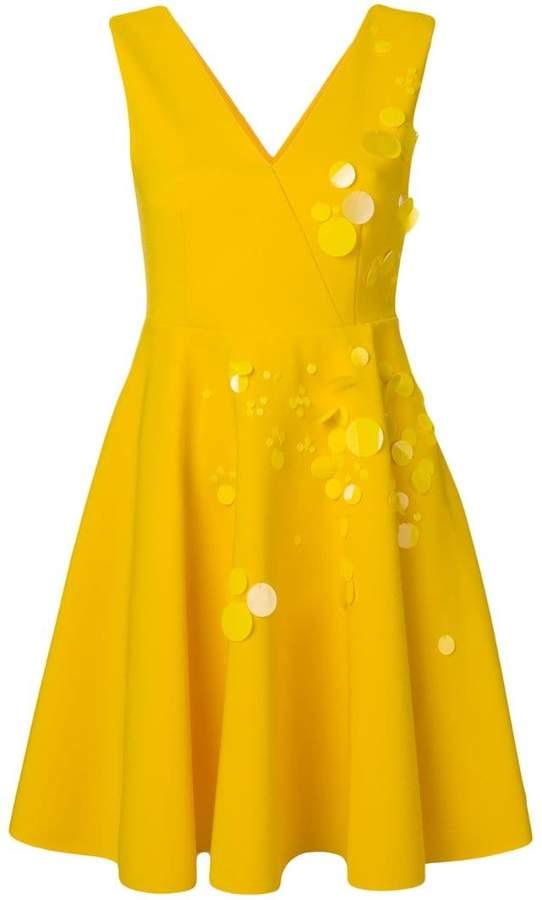 MSGM pailette sleeveless dress
