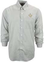 Cutter & Buck Men's New Orleans Saints Tattersall Dress Shirt