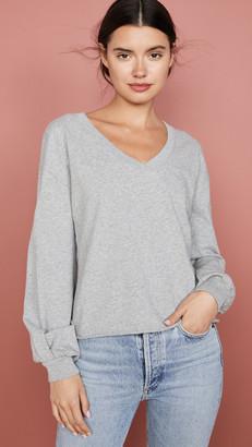 Nation Ltd. Willa Bishop Sleeve Cocoon Pullover