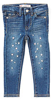 Levi's Little Girls 2T-6X 710 Embroidered Super Skinny Jeans