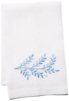 Hamburg House Willow Linen Guest Towel - Blue