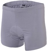 Partiss Men's(Women) Air Permeabiity 3D Padded Bicyce Cycing Underwear Shorts