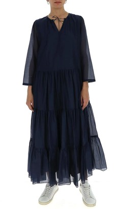 Max Mara 'S Tiered Maxi Dress