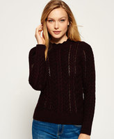 Superdry Ryder Cable Knit Sweater