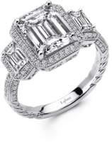 Lafonn Women's 'Lassaire' Three Stone Ring