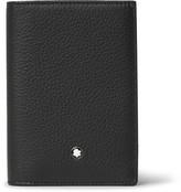 Montblanc MeisterstÃ1⁄4ck Full-grain Leather Trifold Cardholder - Black
