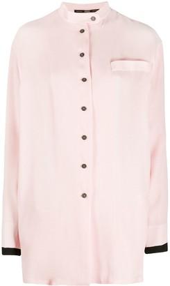 Gianfranco Ferré Pre-Owned 1990s Mandarin Neck Shirt