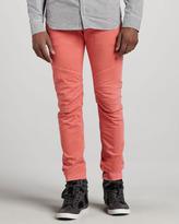 Balmain Pierre Biker Jeans, Salmon