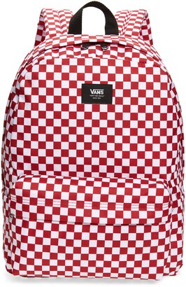 Vans Old Skool Checkerboard Canvas Backpack
