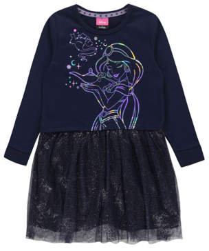 Aladdin George Disney Princess Jasmine Sweatshirt Dress