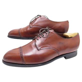 Edward Green Brown Leather Lace ups