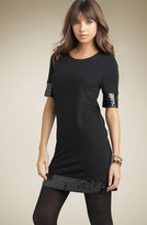Crewneck Tunic with Sequins