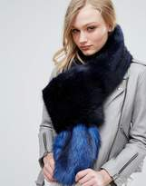 Bandits Premium Faux Fur Jumbo Scarf