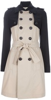 Dsquared2 two-tone trenchcoat