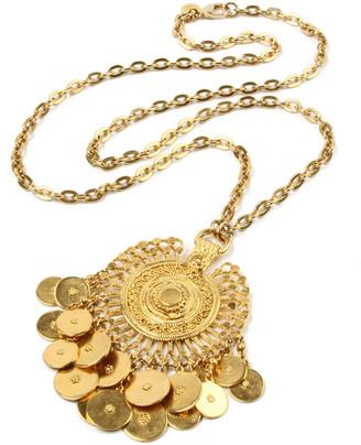 Ben-Amun Coin-Dangle Pendant Necklace