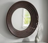 Pottery Barn Round Moulded Wall Mirror
