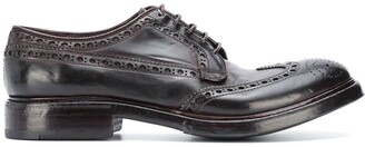 Premiata Perforated Lace-Up Shoes